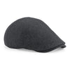 Beechfield Flat Cap Side View B623