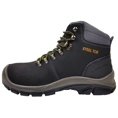 Blackrock SF79 Malvern Black Safety Boot Side