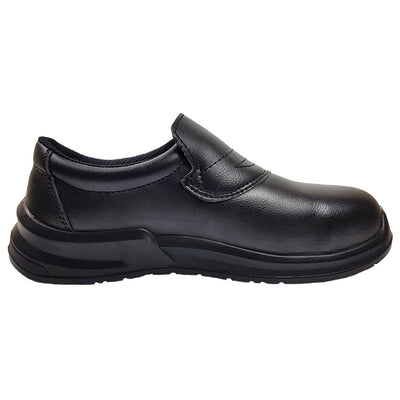 Blackrock SRC04B Black Slip On Safety SHoe