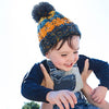 Boy Wearing Beechfield Toddlers Beanie Hat B486A