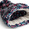 Beechfield Pom Pom Beanie Hat Close Up B487