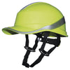 Delta Plus DIAMOND V UP Chin Strap Safety Helmet Hi-Vis Yellow