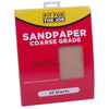 FFJ 25 Pack Of Sandpaper Sanding Sheets Coarse Grit