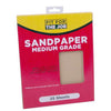 FFJ 25 Pack Of Sandpaper Sanding Sheets Medium Grit