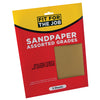 FFJ 5 Pack Of Assorted Grade Paint Sandpaper
