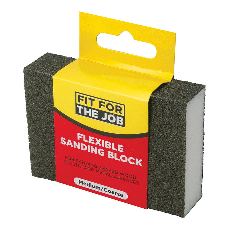 FFJ Medium / Coarse Flexible Sanding Block