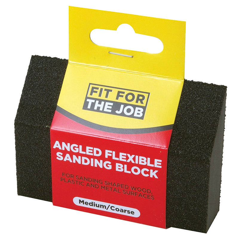 FFJ Medium / Coarse Angled Flexible Sanding Block