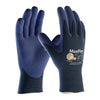 ATG MaxiFlex Elite 34-244 Gloves with Nitrile Foam Palm Dotts