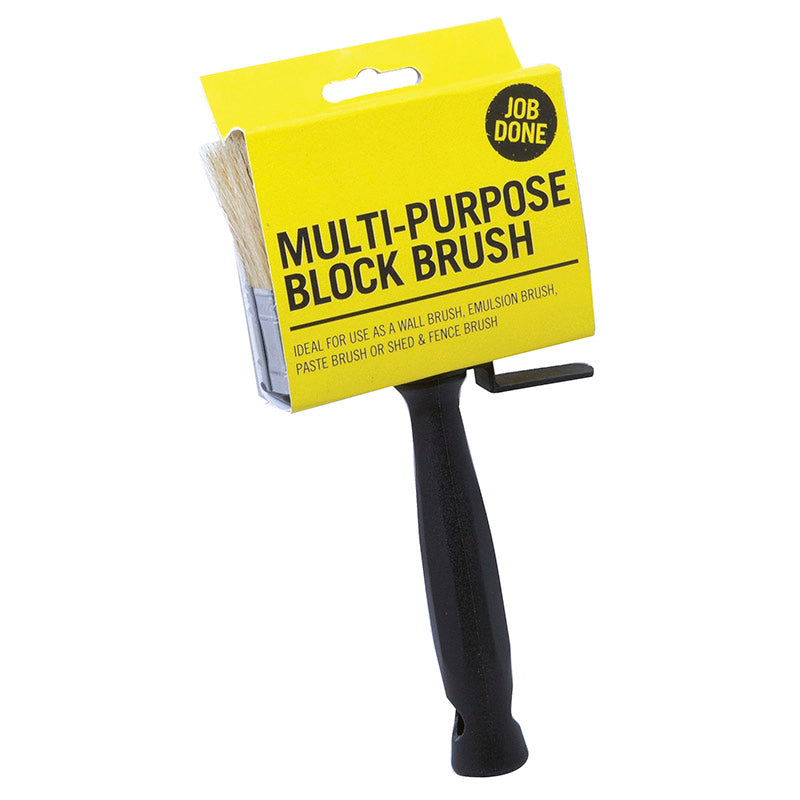 Job Done Multi Purpose Block Brush