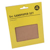 Job Done 5 Sheets Assorted Sandpaper Set