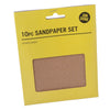 Job Done 10 Sheets Assorted Sandpaper Set