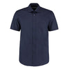Kustom Kit KK102 Men's Short Sleeve Business Shirt Dark Navy