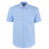 Kustom Kit KK102 Men's Short Sleeve Business Shirt Light Blue