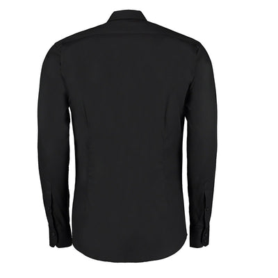 Kustom Kit KK113 Slim Fit Premium Oxford Shirt Long Sleeve