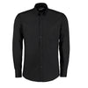 Kustom Kit KK113 Slim Fit Premium Oxford Shirt Long Sleeve Black