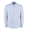 Kustom Kit KK113 Slim Fit Premium Oxford Shirt Long Sleeve Light Blue