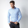 Kustom Kit KK139 Slim Fit Non Iron Oxford Twill Shirt Long Sleeve
