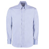 Kustom Kit KK188 Men's Long Sleeve Tailored Fit Premium Oxford Shirt Light Blue