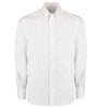 Kustom Kit KK188 Men's Long Sleeve Tailored Fit Premium Oxford Shirt White