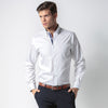 Kustom Kit KK190 Men's Contrast Premium Oxford Button Down Shirt