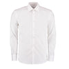 Kustom Kit KK192 Men's Slim Fit Long Sleeve Business Shirt White