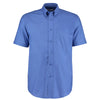 Kustom Kit KK350  Men's Workwear Short Sleeve Oxford Shirt Italian Blue