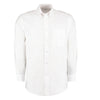 Kustom Kit KK351 Men's Workwear Long Sleeve Oxford Shirt White