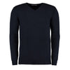 Kustom Kit KK352 Men's Arundel Long Sleeve V-Neck Sweater Navy
