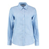 Kustom Kit KK361 Ladies' Workwear Long Sleeve Oxford Shirt Light Blue