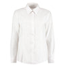 Kustom Kit KK361 Ladies' Workwear Long Sleeve Oxford Shirt White