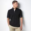 Kustom Kit KK449 Men's Button Down Collar Contrast Polo Shirt