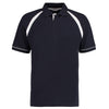 Kustom Kit KK615 Oak Hill Polo Shirt Navy / White