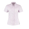 Kustom Kit KK701 Ladies' Corporate Short Sleeve Oxford Shirt Lilac