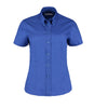 Kustom Kit KK701 Ladies' Corporate Short Sleeve Oxford Shirt Royal