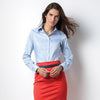 Kustom Kit KK702 Ladies' Corporate Long Sleeve Oxford Shirt