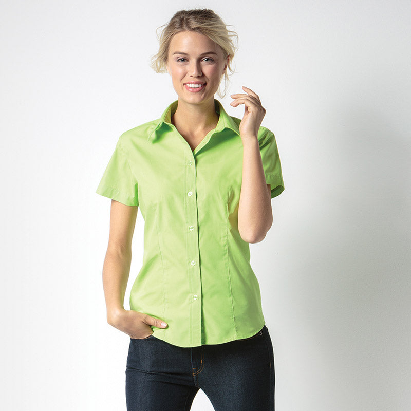 Kustom Kit KK728 Ladies' Short Sleeve Workforce Shirt