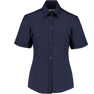 Kustom Kit KK742F Ladies' Business Shirt Dark Navy