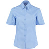 Kustom Kit KK742F Ladies' Business Shirt Light Blue