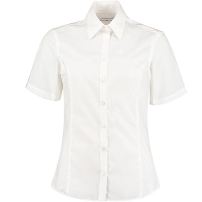 Kustom Kit KK742F Ladies' Business Shirt White