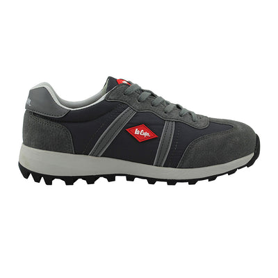 Lee Cooper Men's Suede Safety Trainer Suede LCSHOE112