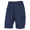 Delta Plus M2BE2 Work Wear Shorts Navy Blue / Royal Blue