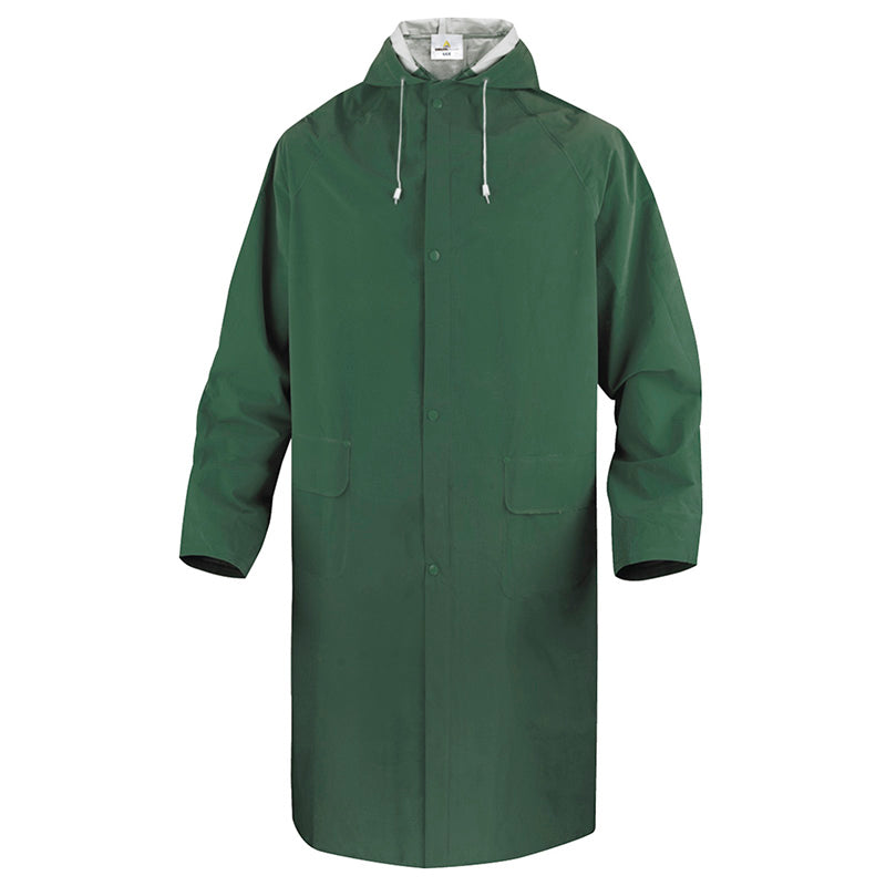 Delta Plus 305 Waterproof Rain Coat Green / M