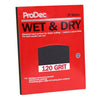 ProDec 25 Pack Wet & Dry Sheets - Coarse 120 grit