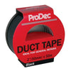 ProDec 50mm x 50m Black Duct Tape