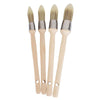 ProDec 4 Piece Set Synthetic Pointed Sash Paint Brushes