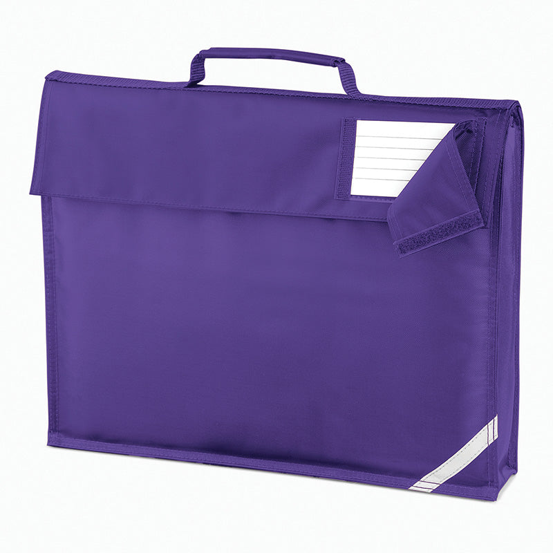 Quadra Junior Book Bag Purple