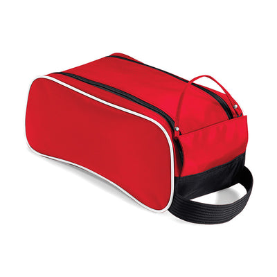 Quadra Teamwear Shoe Bag Classic Red / Black / White