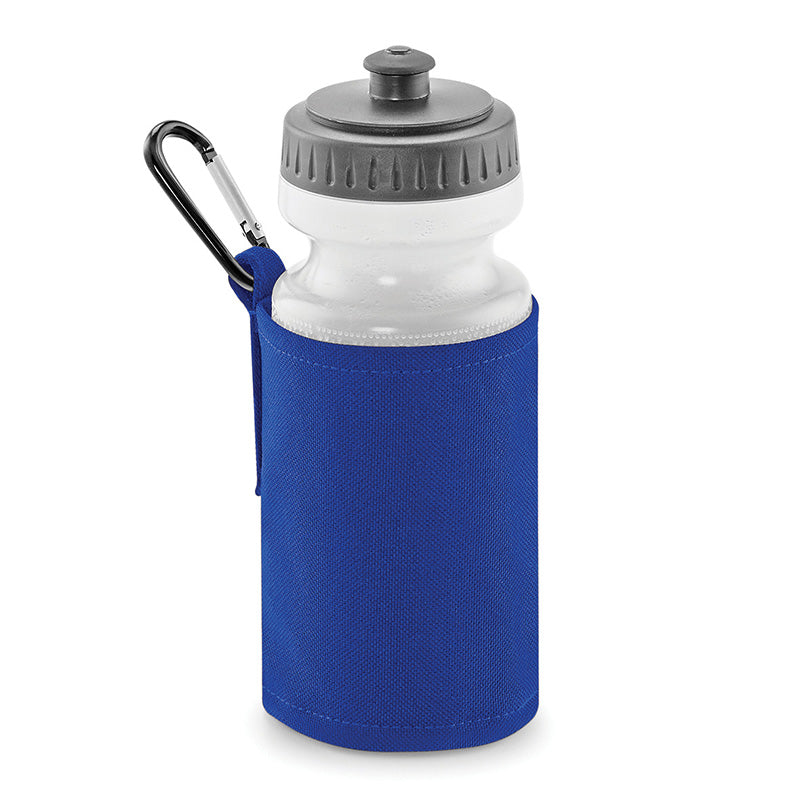 Quadra Water Bottle And Holder Bright Royal
