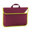 Quadra Enhanced-Viz Book Bag Burgundy