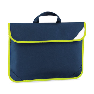 Quadra Enhanced-Viz Book Bag French Navy